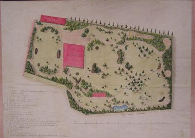 Plán parku_19. st.