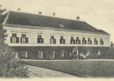 Západní křídlo _1908